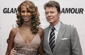 Iman recuerda a Bowie