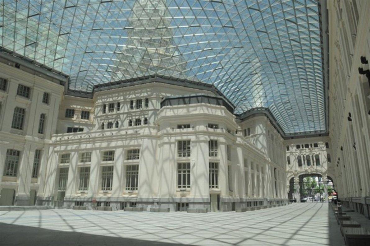 Interior del Palacio de Cibeles.