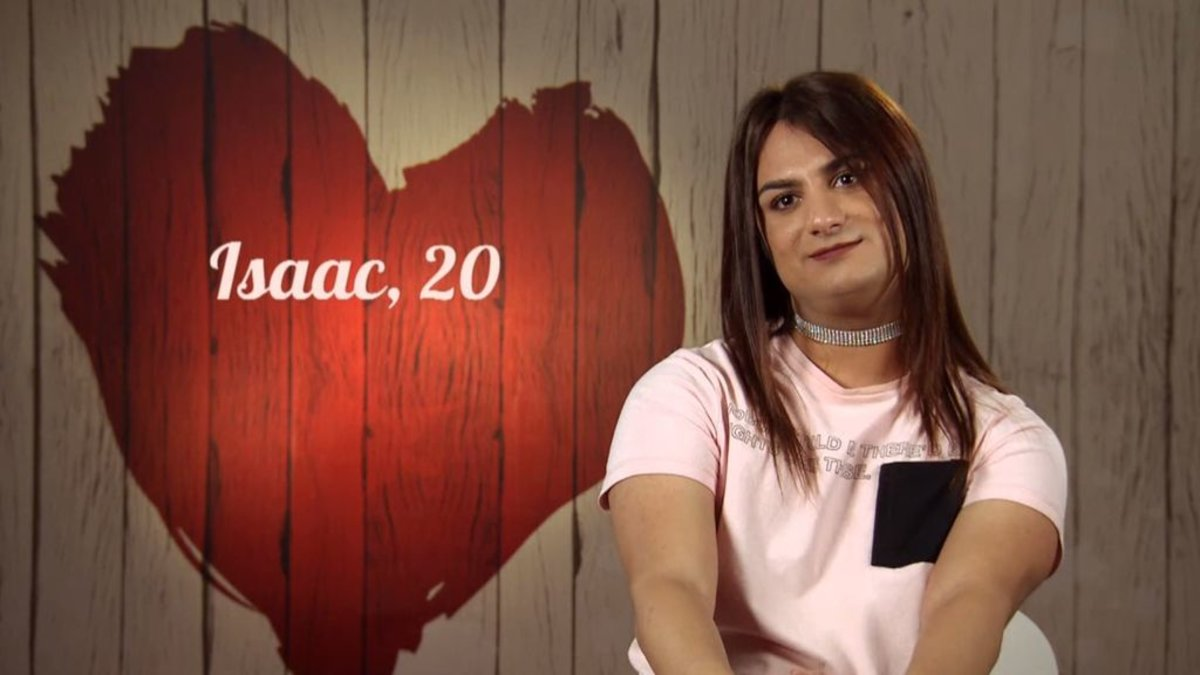 Isaac en 'First Dates'.