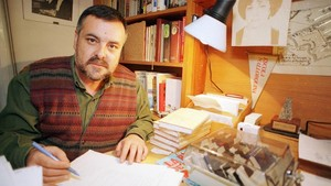 El escritor Jaume Fuster.