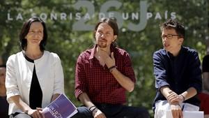 Errejón s'alia amb Bescansa a la Comunitat de Madrid per desbancar Iglesias