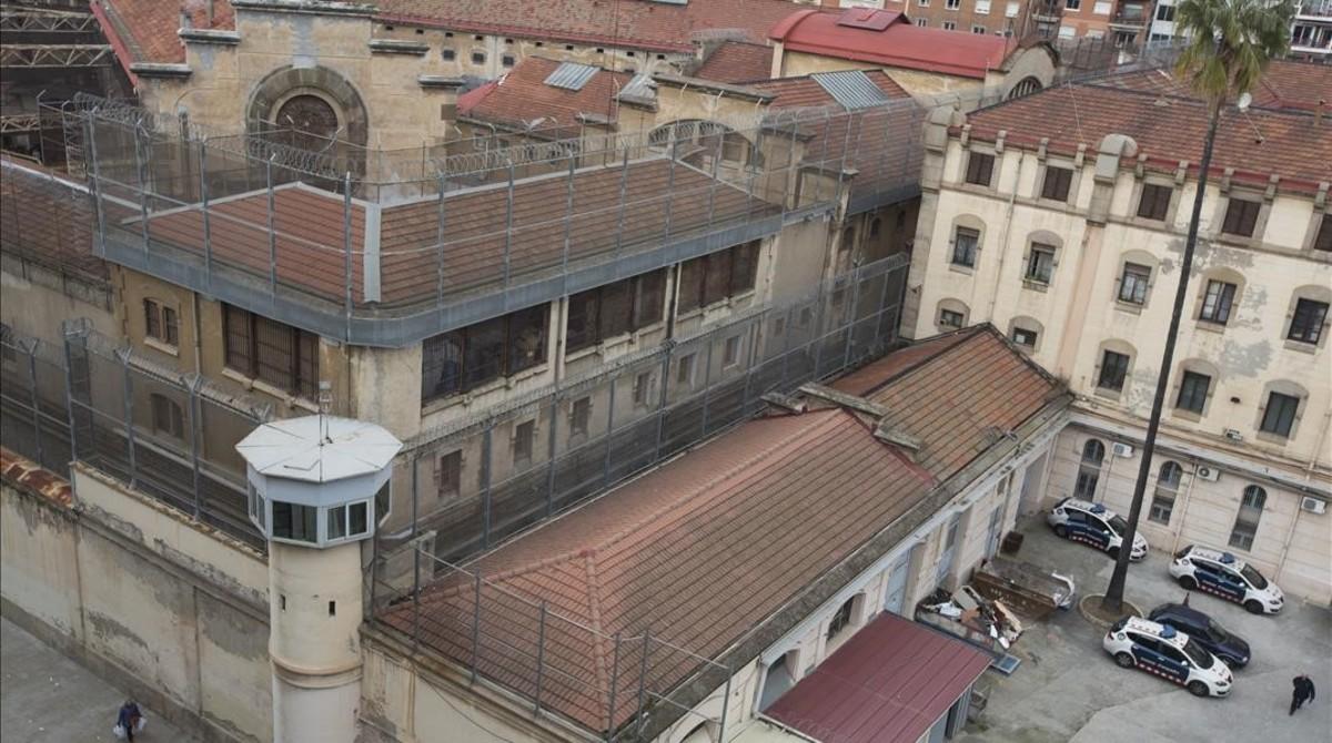 La cárcel Modelo de Barcelona, en enero pasado.