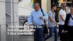 Joan Manuel Parra comparece como testigo en la Audiencia Nacional