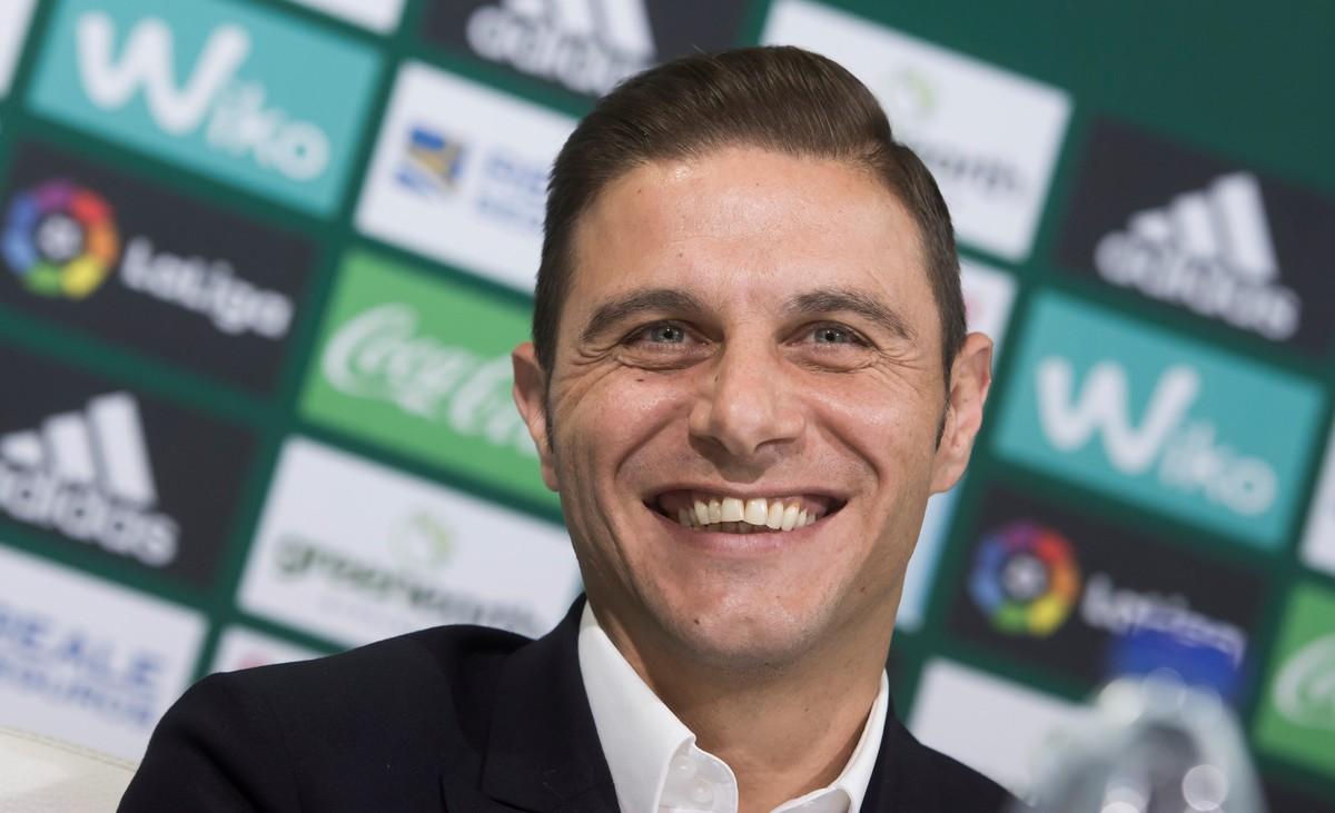 El capitán de la plantilla verdiblanca, Joaquín Sánchez.