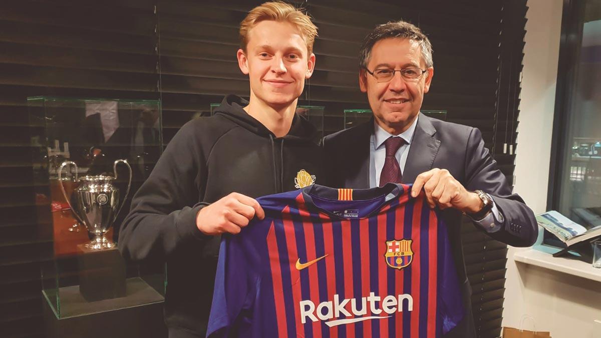 De Jong, nuevo fichaje estratégico del Barça.