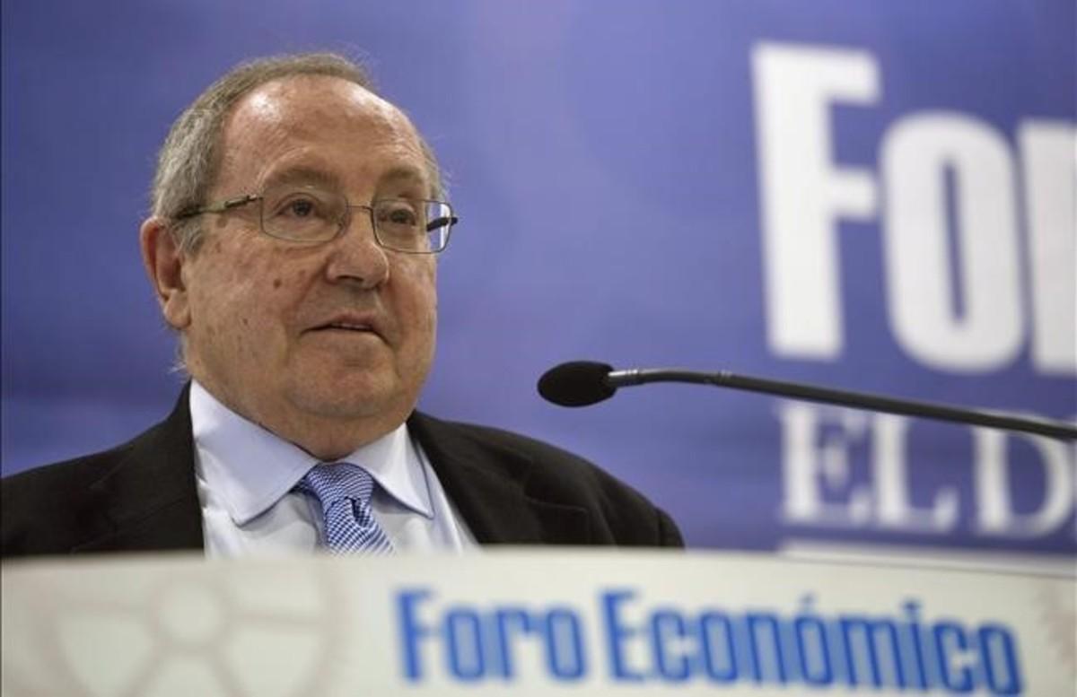 El presidente de la Cámara de Comercio de España, José Luís Bonet.