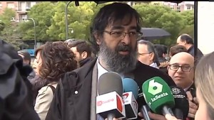 El juez Ricardo González.