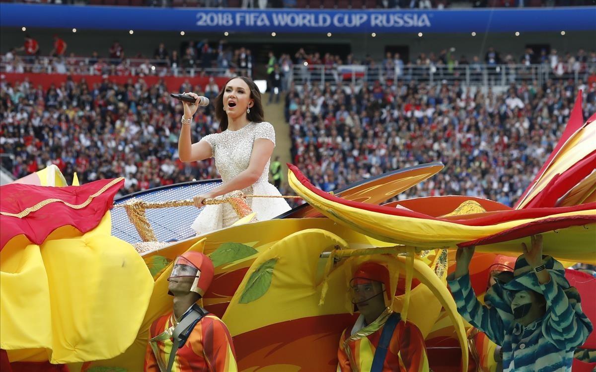 La actuación de la soprano rusa Aida Garifullina.