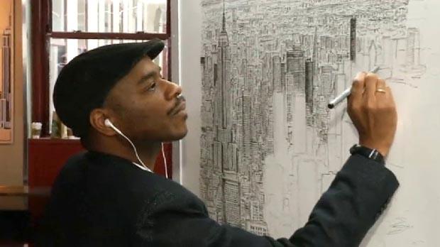 Stephen Wiltshire és capaç de dibuixar ciutats senceres després dobservar-les durant 45 minuts.