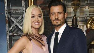 Orlando Bloom y Katy Perry, el pasado miércoles en Los Ángeles.