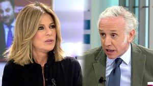 """Nuevo enfrentamiento entre Palomera e Inda en 'AR': """"No mereces ni la pena"""""""