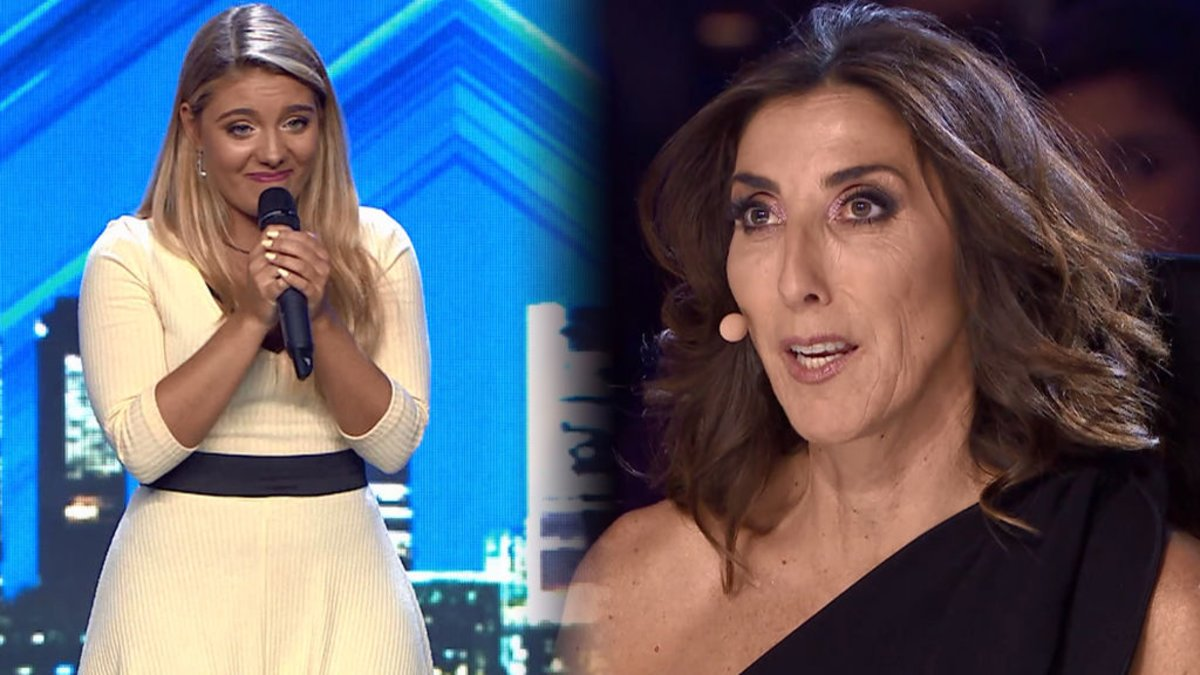 Lucía Briss y Paz Padilla en 'Got Talent'.