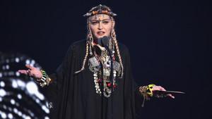 Madonna en los MTV Video Music Awards.