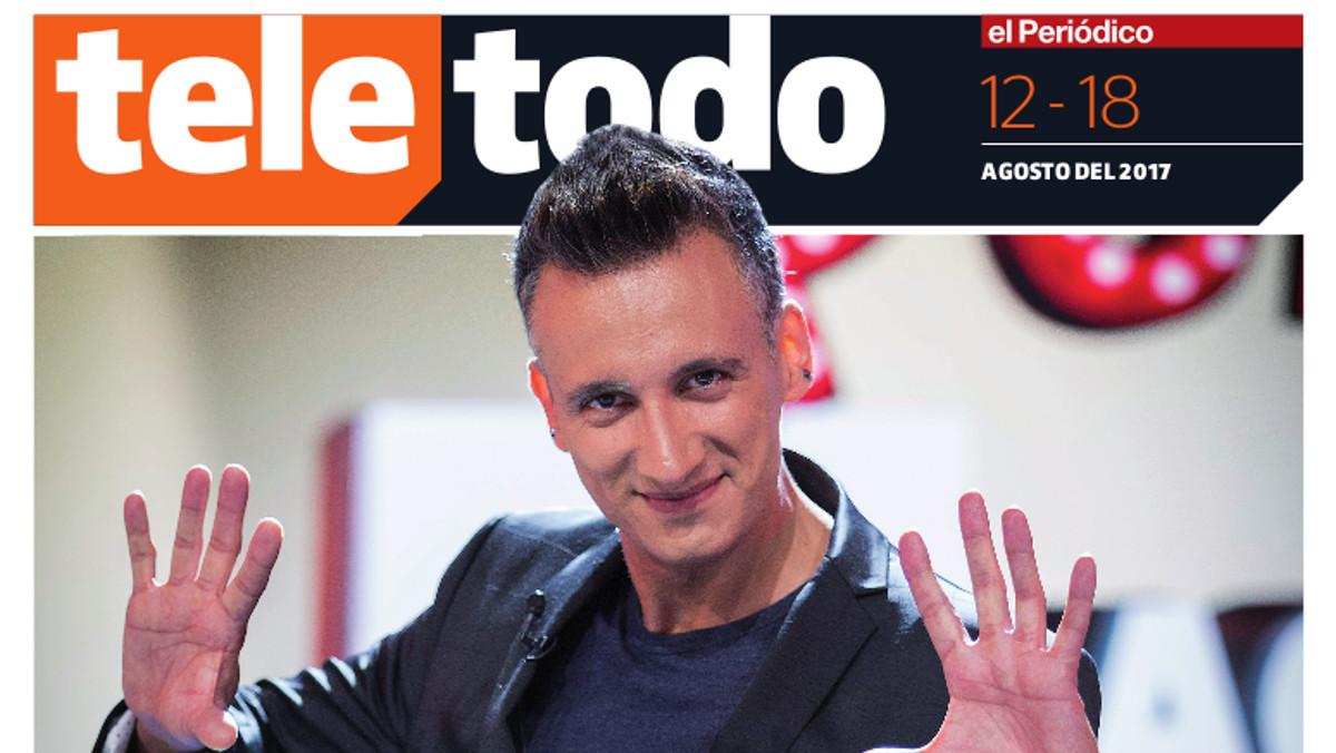 Mag Lari, en la portada de Teletodo.