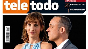 Malena Alterio y Javier Gutiérrez, en la portada de Teletodo.