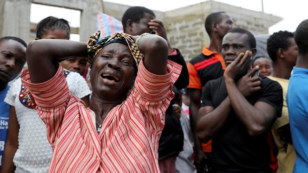 Las labores de rescate continúan en el país centroafricano donde se estima que hay aún unas 600 personas desaparecidas.