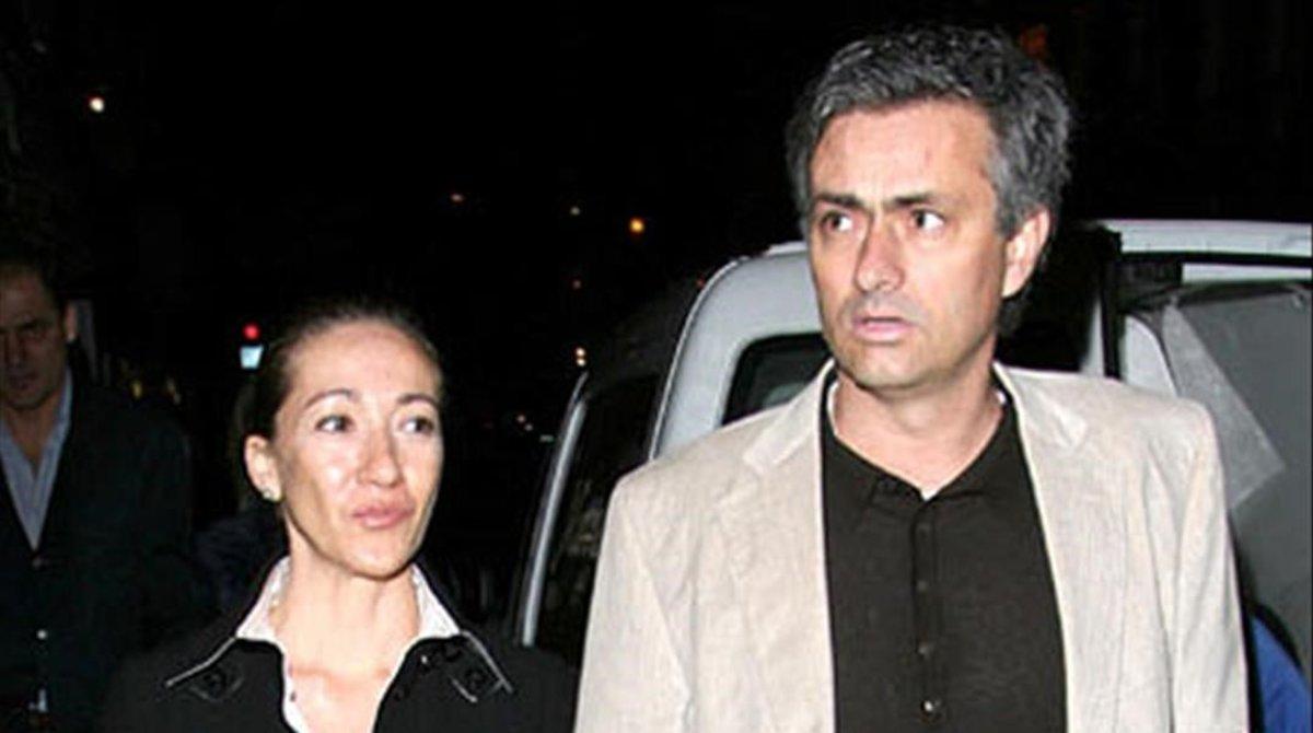 José Mourinho y su mujer, Matilde Faria.