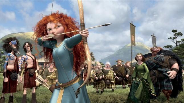 Merida, la protagonista de 'Brave'.