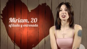Miriam en 'First Dates'.