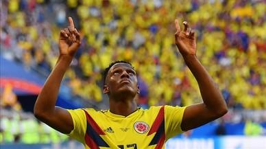 Inglaterra avanza a cuartos en un duelo intenso con Colombia