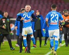 El Napoli suma cuatro partidos sin conocer la derrota
