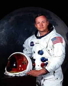 El astronauta Neil Armstrong en una foto cedida por la Nasa.