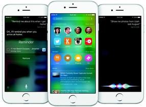 Novedades del iOS 9 de Apple.