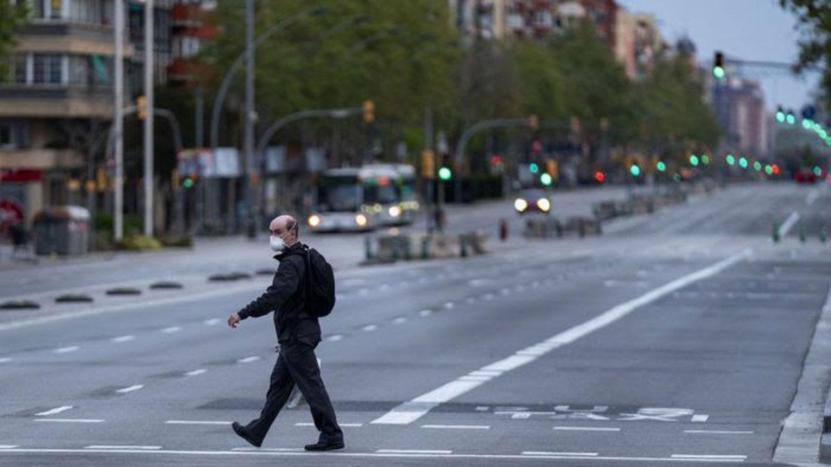 El nuevo portal 'Imatges Barcelona' incluye 1.200 fotos del confinamiento.