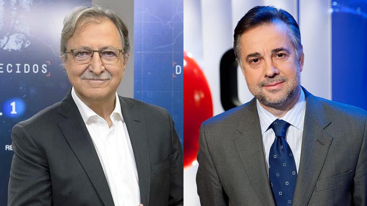 Paco Lobatón y Jenaro Castro.