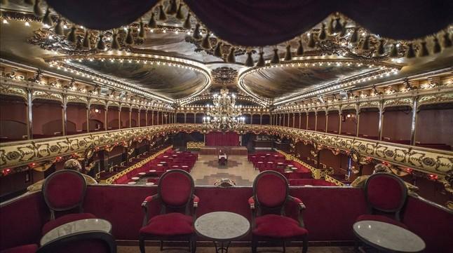 La histórica sala de baile La Paloma ultima las obras para poder abrir de nuevo despues de nueve años cerrada.