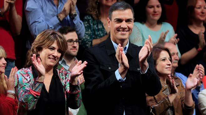 Pedro Sánchez: Urnas vacías significa involución; urnas llenas, progreso para todos.