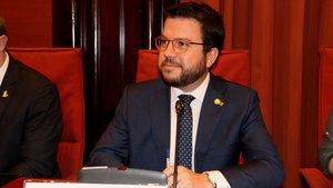 El 'vicepresident'Pere Aragonès.