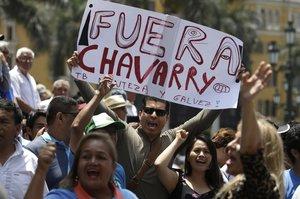 En Lima y otras ciudades de Perú se han realizado protestas sociales exigiendo la renuncia del Fiscal de la Nación.