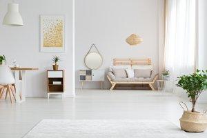 Pisos con decoración minimalista en Barcelona.