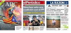 Prensa de hoy: Las portadas de los periódicos del sábado 02 de noviembre de 2019