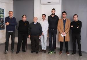 """Guanyadors del I ConcursGavà a vista de dron""""."""