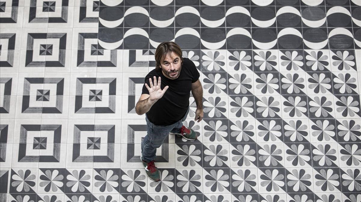El actor y autor teatral Quim Masferrer, en Barcelona.