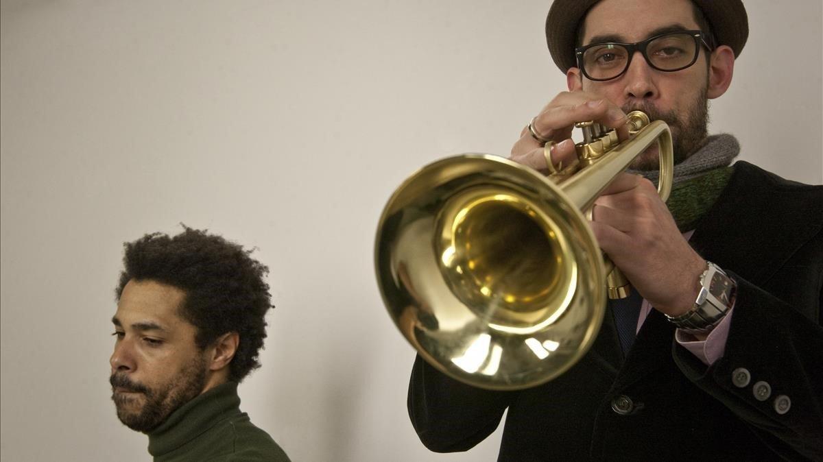 Raynald Colom (derecha) y Marc Ayza