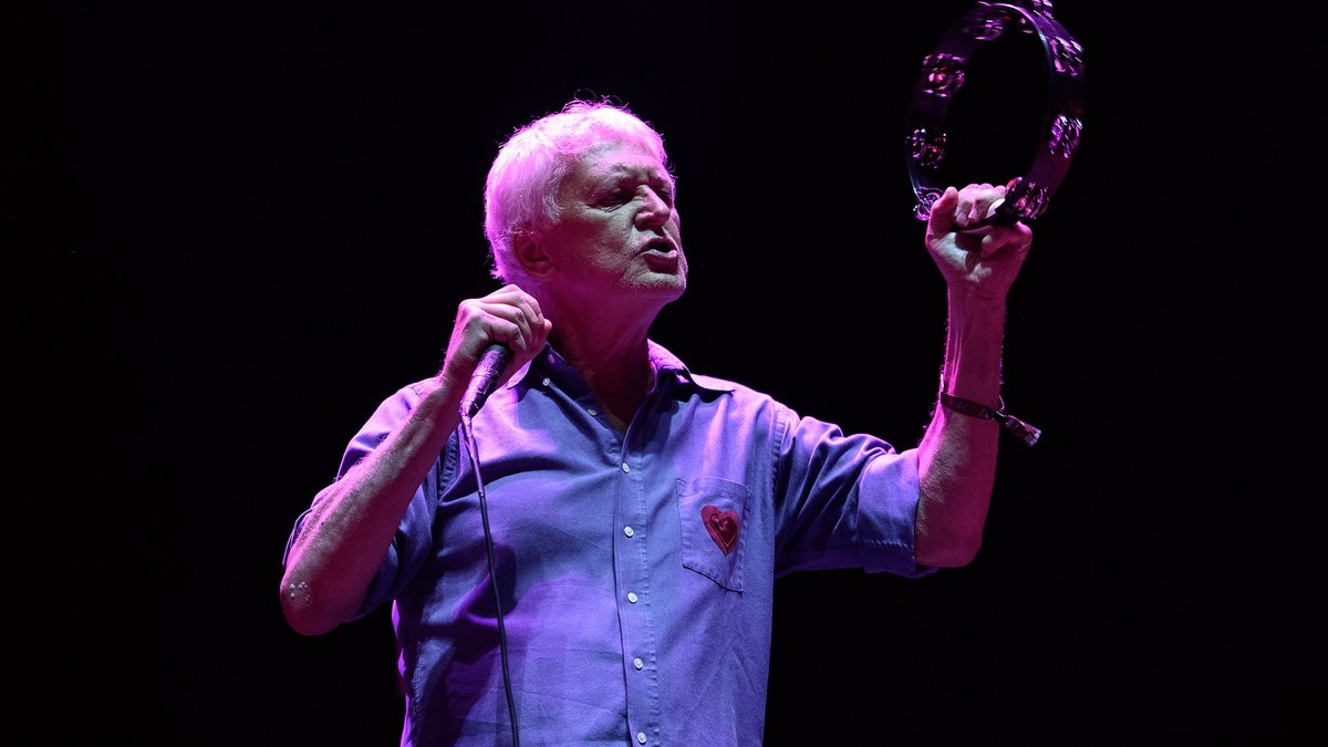 Robert Pollard, en el concierto de Guided by Voices en el Primavera Sound