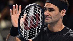 Federer, tras su triunfo ante Berrettini.