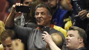 Sylvester Stallone, el pasado marzo, en un concierto de Bruce Springsteen en Los Ángeles.