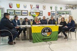 Rueda de prensa con los representantes de las diferentes entidades organizadoras y asociaciones
