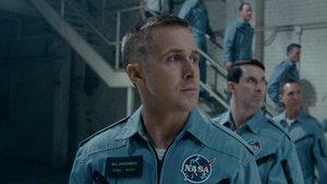 Ryan Gosling, en un fotograma de First Man (El primer hombre)