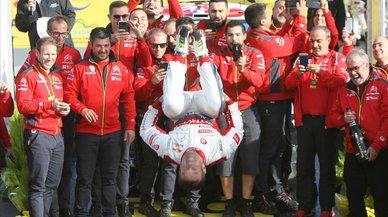 Loeb agiganta su leyenda en el Rally RACC Catalunya