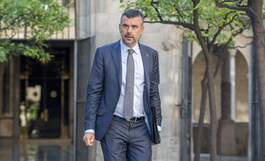 Santi Vila, posible alcaldable del PDECat para las elecciones municipales de 2019.
