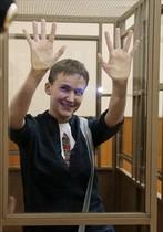 Sávchenko, en el juicio.