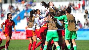 Selección femenina de Fútbol Sub-17 de España.
