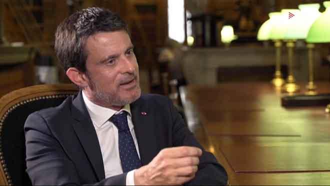 Manuel Valls, en Quatre gats (TV-3).