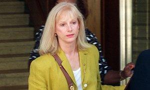 La actriz Sondra Locke, en septiembre de 1996.