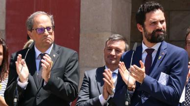 Torrent y Torra reclaman la libertad de los políticos presos